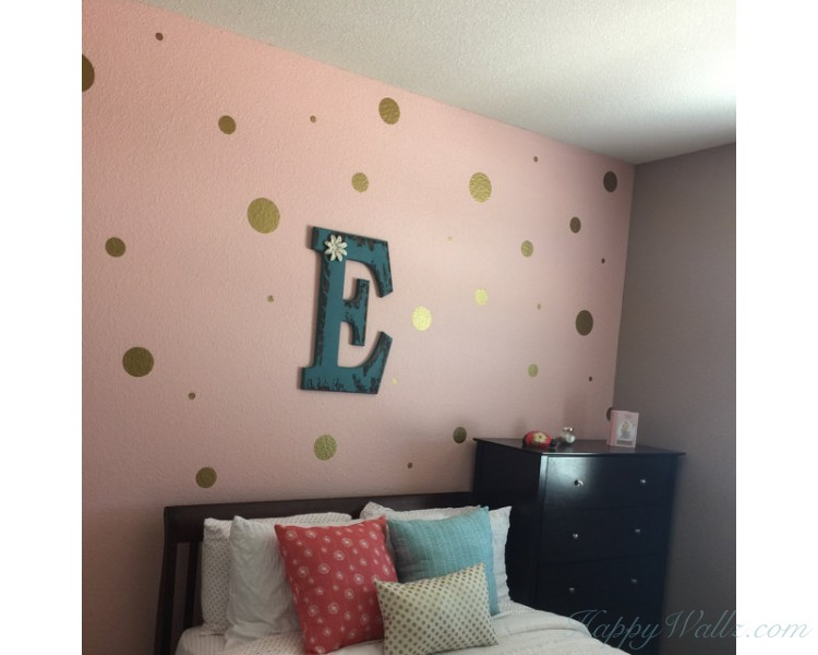 Polka Dots Pattern Wall Decal