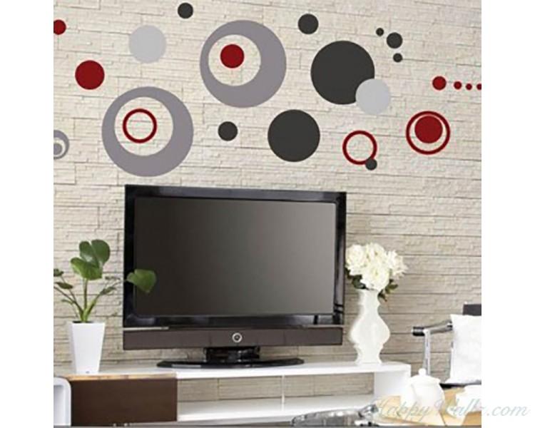 Circles and Dots Wall Decal