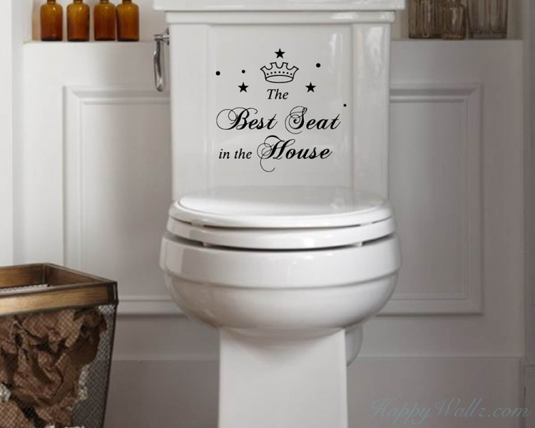 Best Seat In The House Quote Wall Sticker