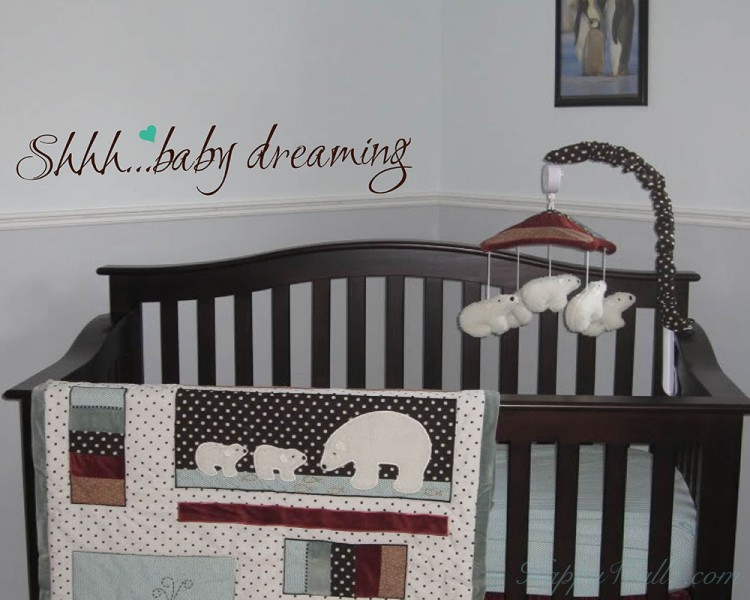 Shhh... Baby Dreaming Quotes