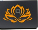 Lotus Flower Wall Decal Mac Sticker Flower Computer Wall Decals