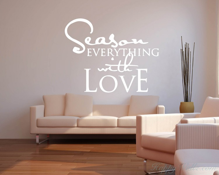 Quotes - Season Everything With Love Motivational Quote
