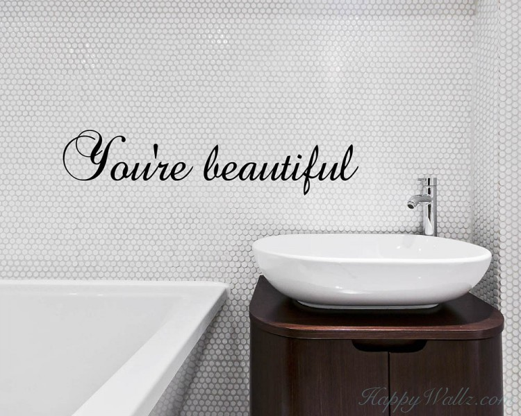 Quotes - You're Beautiful Motivational Quote
