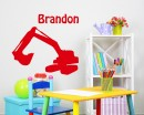 Rooter Customized Name Children Wall Decals Baby Nursery Name Wall Stickers