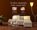 In These Moments Time Stood Still Wall Decal Art Family Names Dates