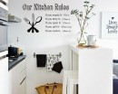 Kitchen Rules - Dining Room Decor