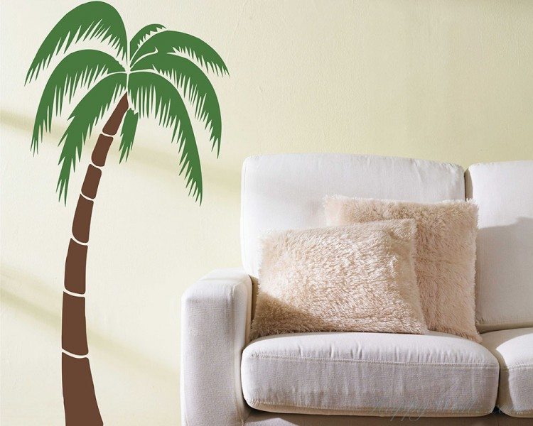 Tropical Palm Tree Decal