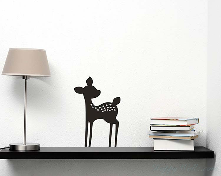 Fawn Deer Wall Art Decal