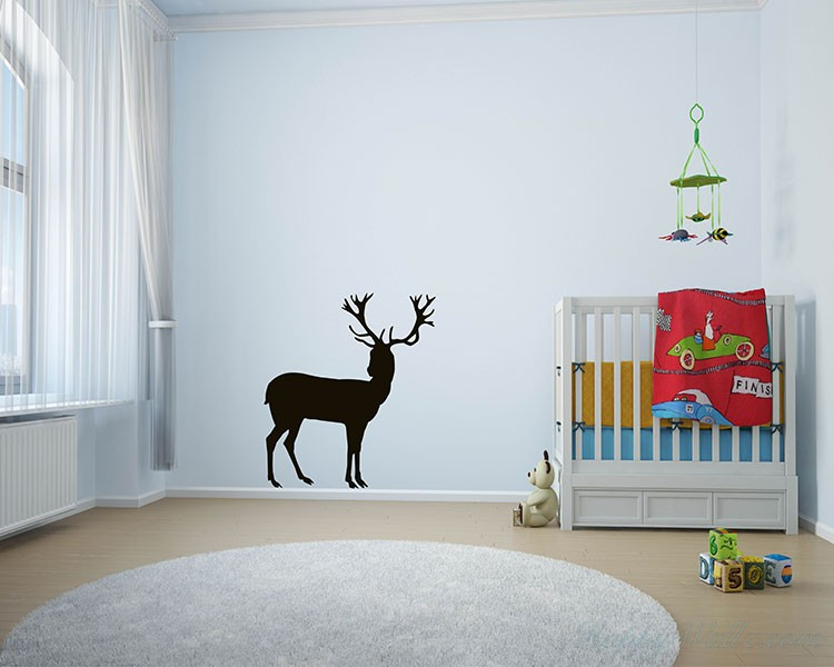 Large Deer Wall Decal
