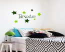 Lovely Stars Customized Name Vinyl Decal For Nursery
