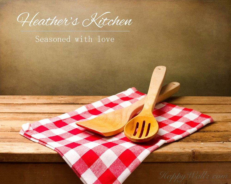 Customized Name Kitchen Decal - Seasoned with Love