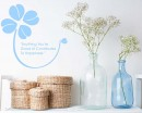 Clover with Quotes Vinyl Art Decals Modern Wall Art
