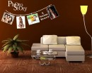 Photo Story Photo Frame Vinyl Decals Modern Wall Sticker