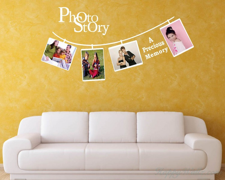 Photo Story Photo Frame Decal