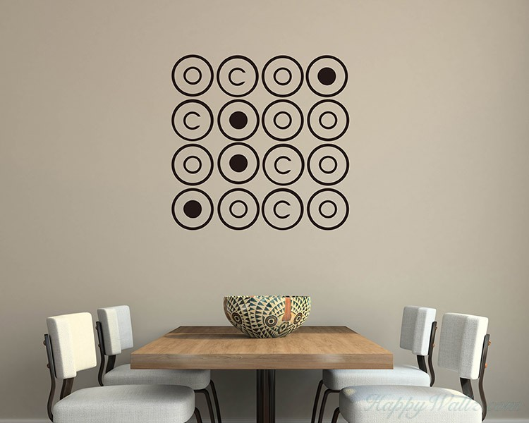 Circles Vinyl Decal