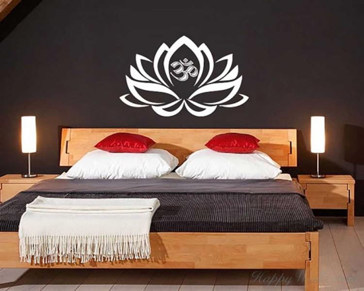 Lotus Vinyl Flower Decal