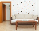 Polka Dots Wall Decal Pattern Wall Decal Nursery Modern Vinyl Sticker