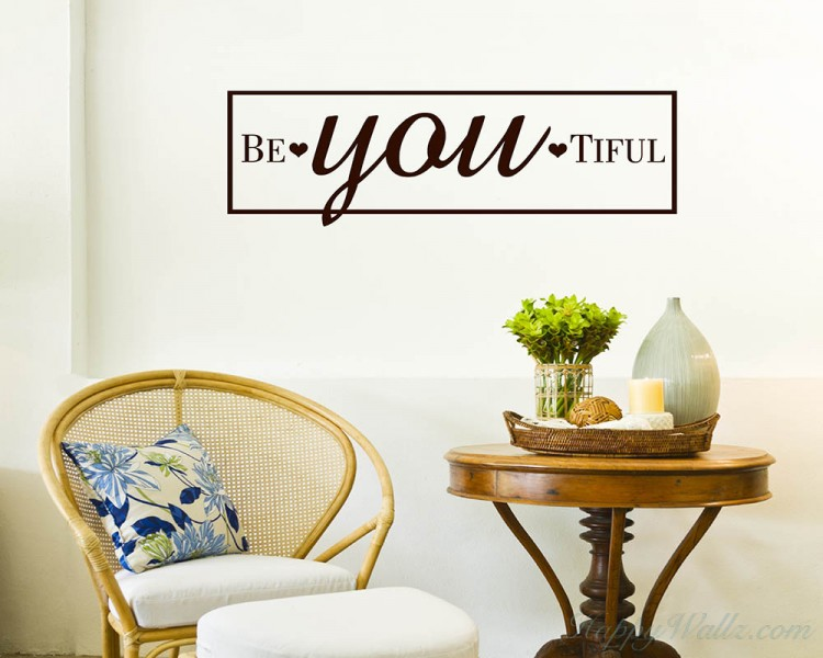Beautiful Quotes Wall Decal
