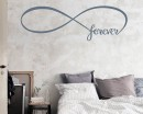 Infinity Forever Quotes Wall Decal Quotes Vinyl Art Stickers