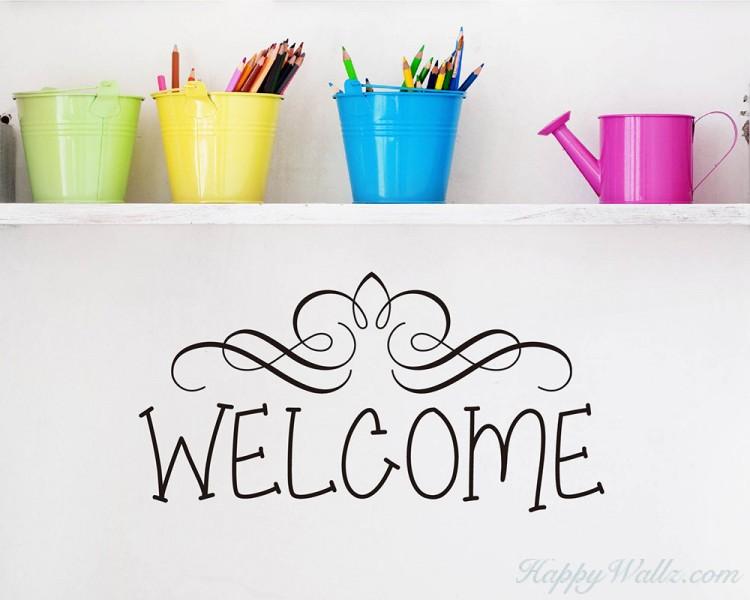 Welcome Quotes for Front Door, Hallway,etc
