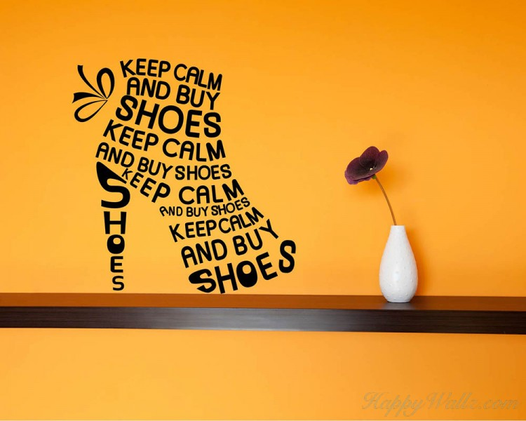 Keep Calm Quotes Wall Decal