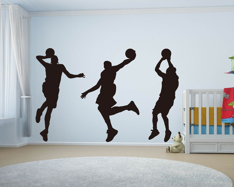 Basketball Man Vinyl Decal