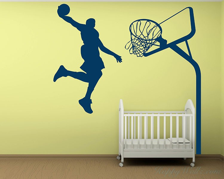 Slam Dunk - Basketball Wall Decal