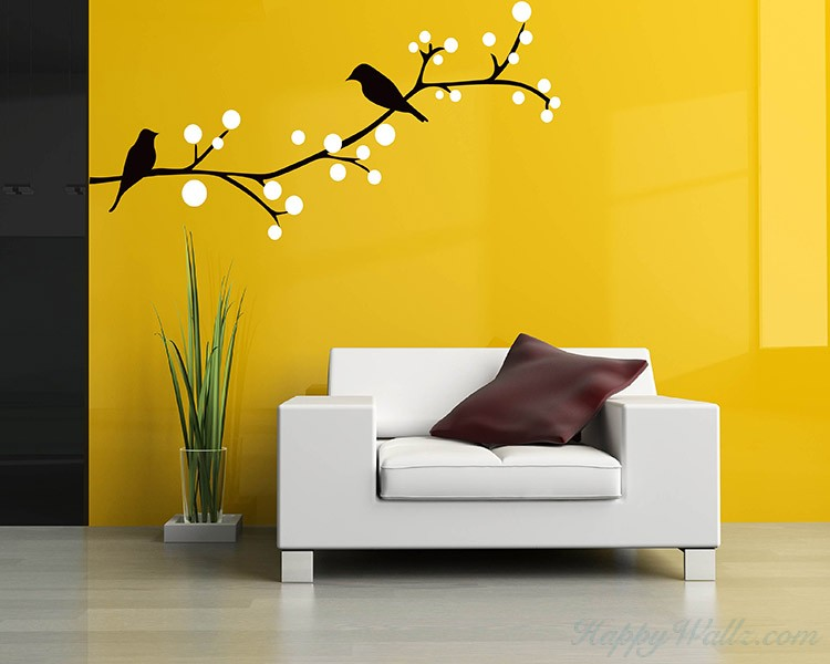 Birds on the Branch Wall Decal