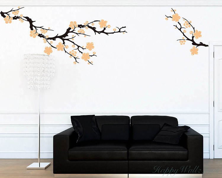 Plum Blossom Wall Decal