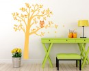 Tree and Owl Wall Decal Nursery Vinyl Tree Art Stickers