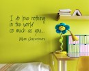 I Do Love Quotes Wall Decal Love Vinyl Art Stickers