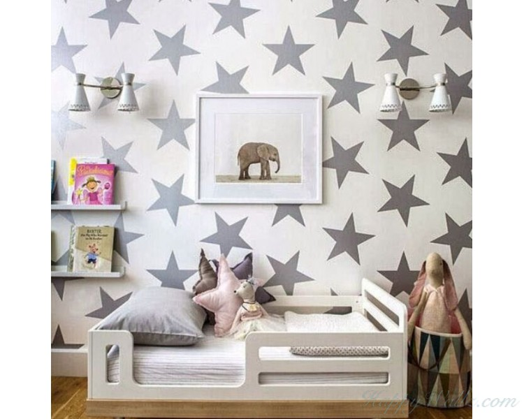 Star Pattern Wall Decal
