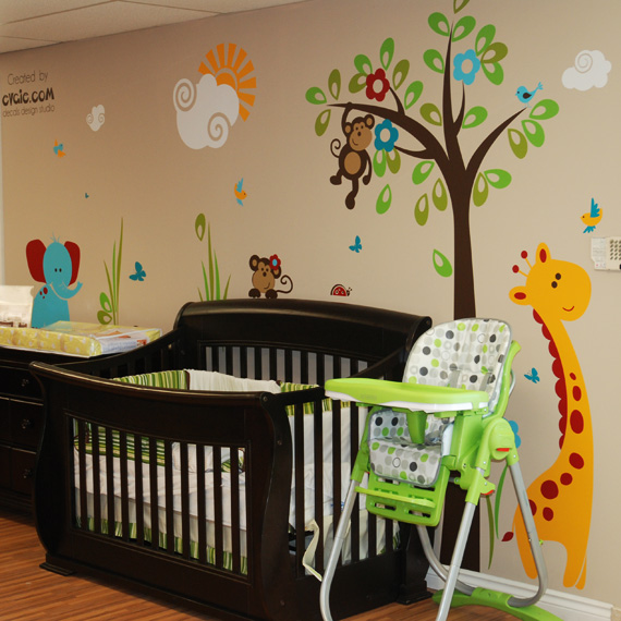 large tree wall decal application instructions