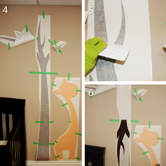 Large Tree Wall Decal Application Instructions - Vinyl wall decal application